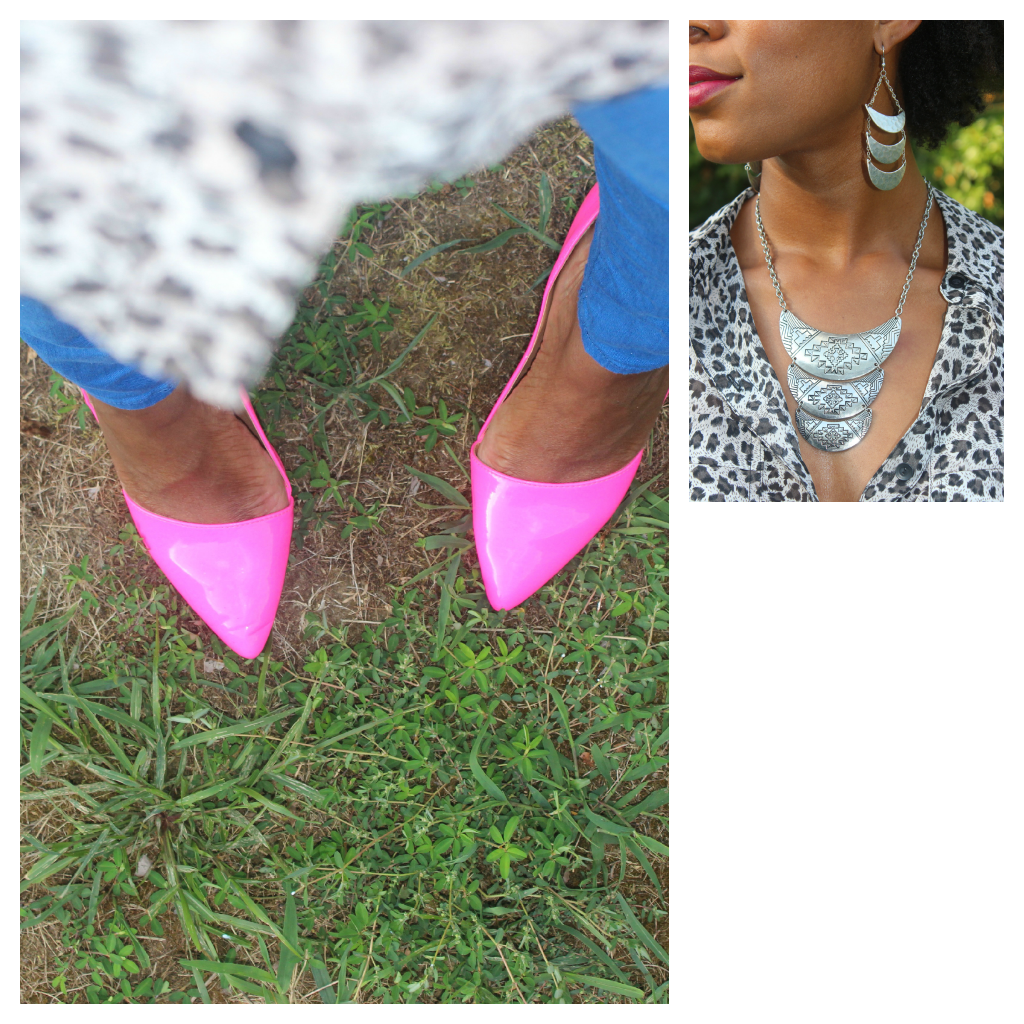 OOTD Pink Shoes