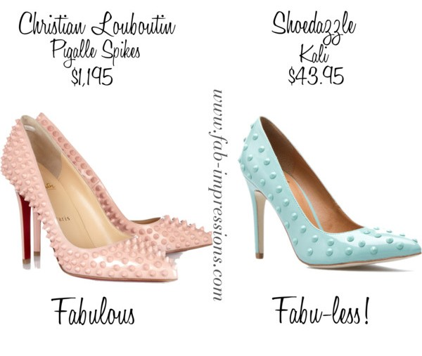 Fab For Less Louboutin