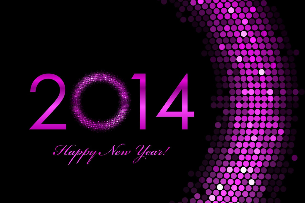 2014-happy-new-year-in-purple-colour-hd-wallpaper | the style medic