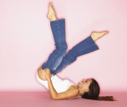 Black woman + Jeans