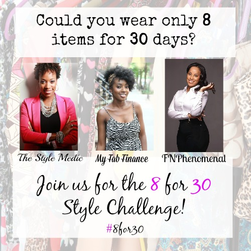 8 for 30 style challenge