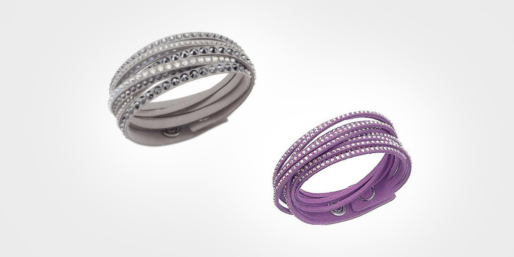 Alcantara x Swarovski Wrap Bracelet $69