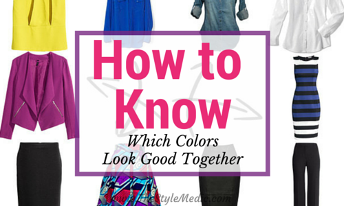how to know which colors look good together | the style medic