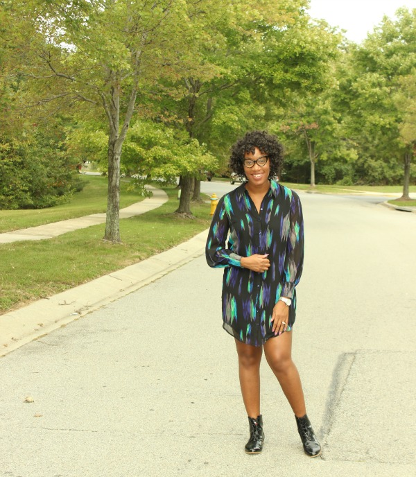 Printed Shirt Dress3| The Style Medic