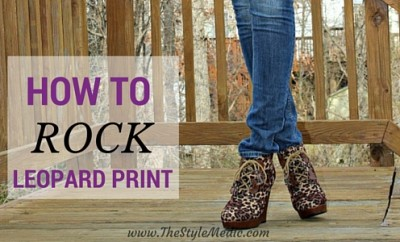 How to Rock Leopard | The Style Medic