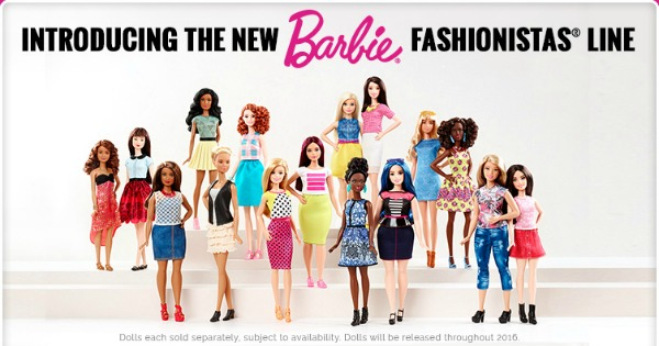New Barbie Fashionistas | The Style Medic