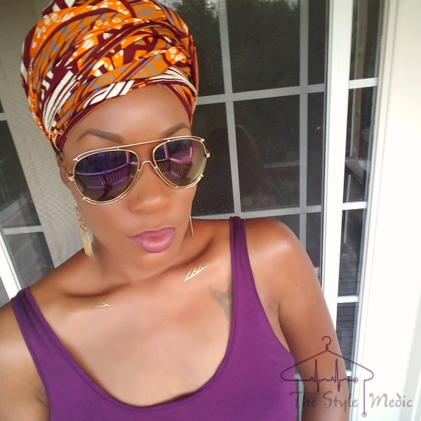 African Print Headwrap | The Style Medic