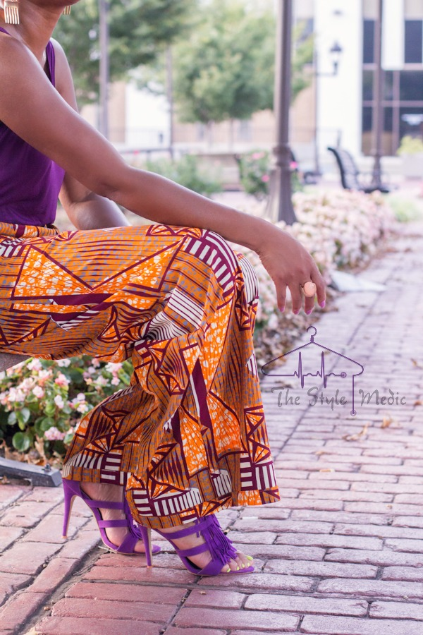 OOTD African Print Pants | The Style Medic