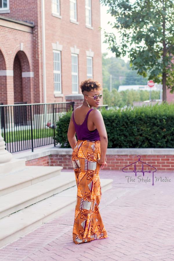 OOTD African Print Pants | The Style Medic