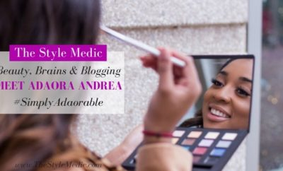 Beauty, Brains & Blogging: Meet Adaora | The Style Medic