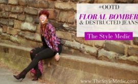 Floral Bomber Jacket | The Style Medic