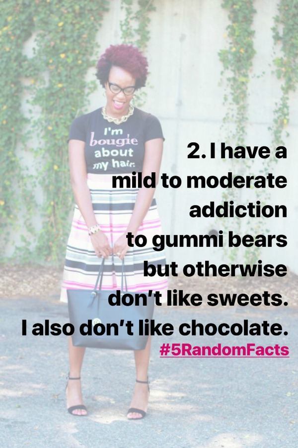 5 Random Facts About Me | The Style Medic